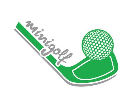 Mini golf symbol
