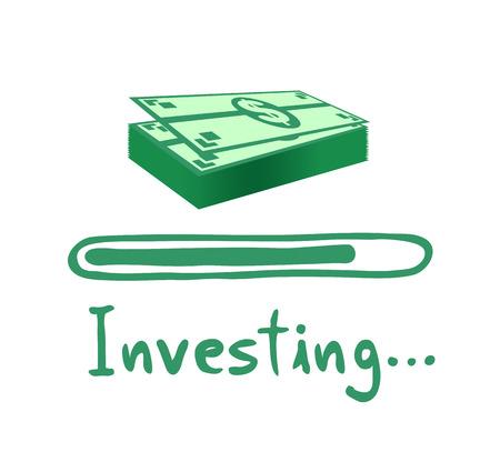 investing code bar illustration