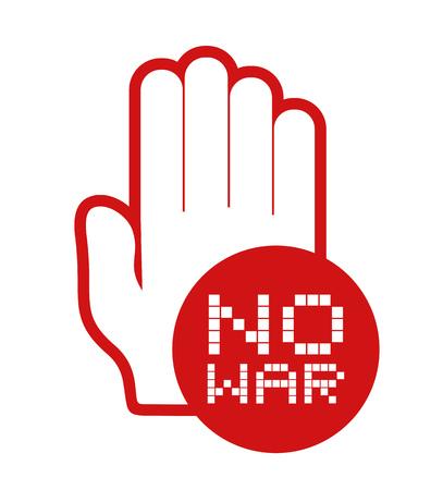 no war icon Ilustração