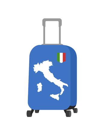 traveling italy illustration