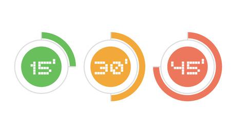 three times icons