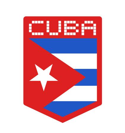 Cuba icon design