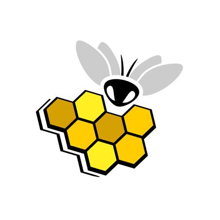 honeycomb nice symbol Illusztráció