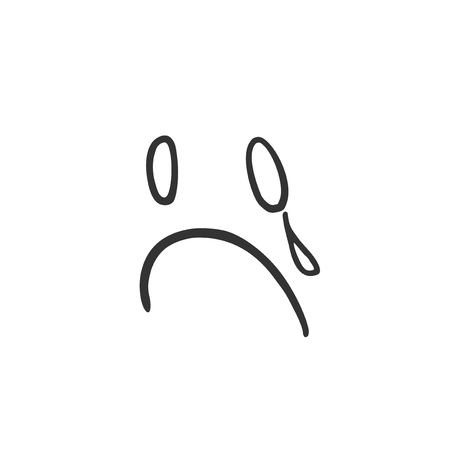 cry expression draw