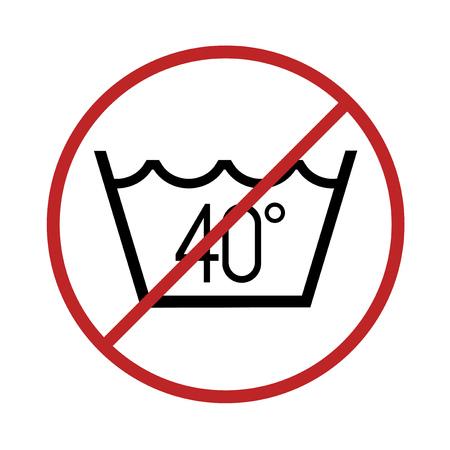 No wash at more of 40 degrees