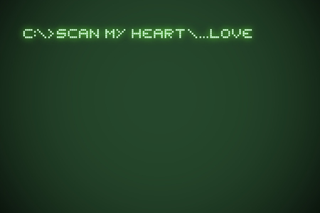 original scan my heart message