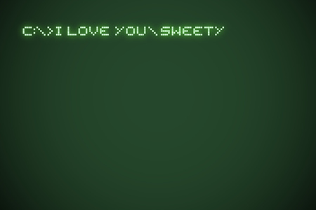 original I love you sweety message