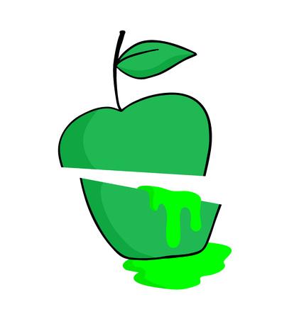 Apple juice icon Ilustração
