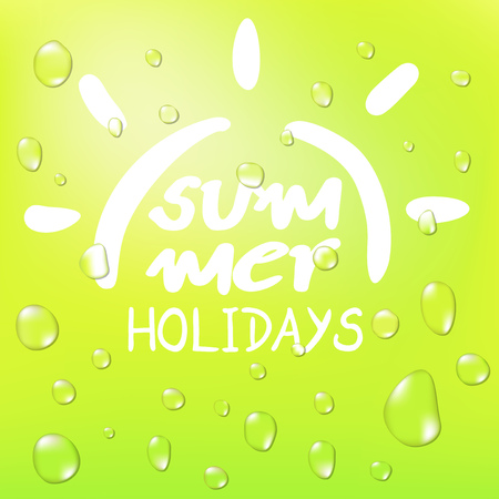 refreshing summer symbol