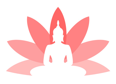 lotus flower budha symbol