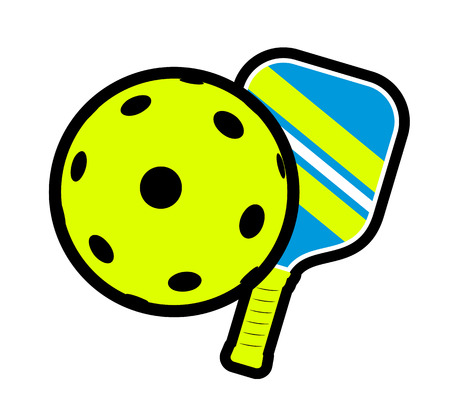 Pickleball symbol design