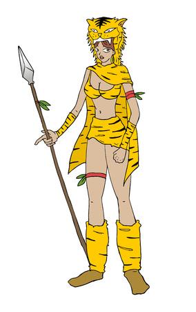tiger woman warrior