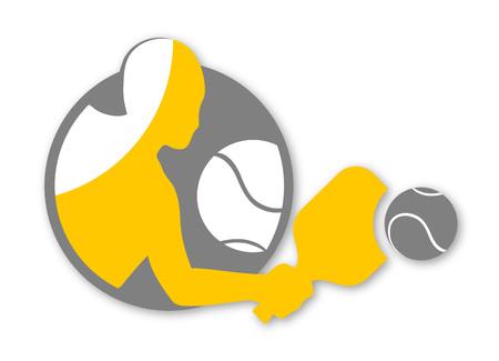 padel sport symbol