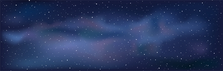 Night sky background Stock Illustratie