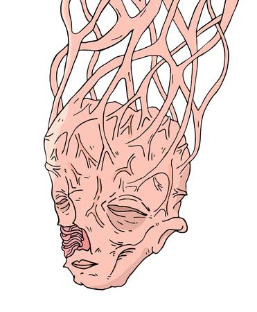 deformity mutant head
