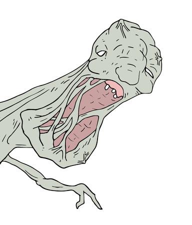 mutant monster illustration