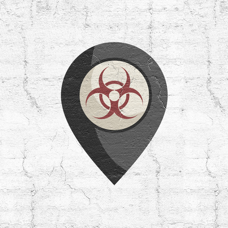 biohazard zone