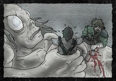 creative monster illustration