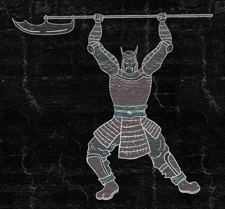 Armor samurai Stock Photo