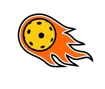 Pickleball symbool ontwerp