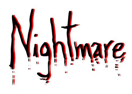 creative nightmare message