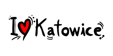 Przesłanie miłości do Katowic