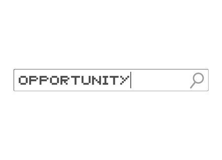 Opportunity searching illustration