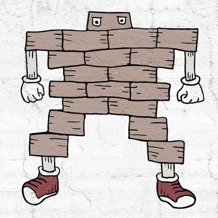 hard brick character