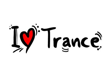 Trance music style