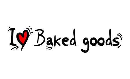 baked goods love message