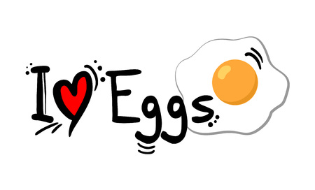 eggs love message