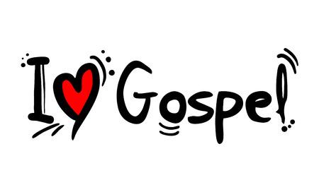 Amor al estilo de la música gospel