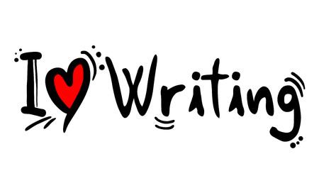 Me encanta escribir un mensaje