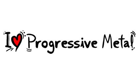 Progressive Metal music style love