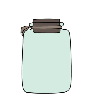 empty jar draw