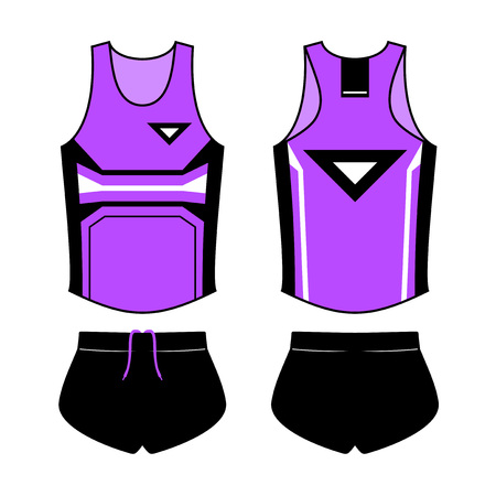 runner clothes design