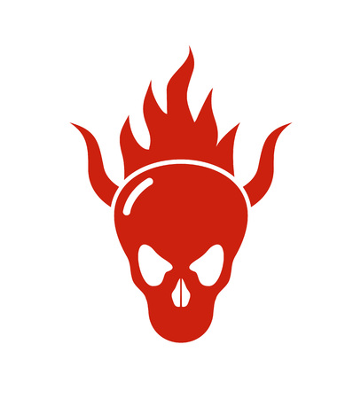 demon skull icon