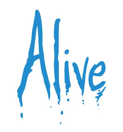 creative alive message Imagens - 115116294