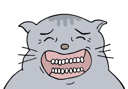 funny joking cat