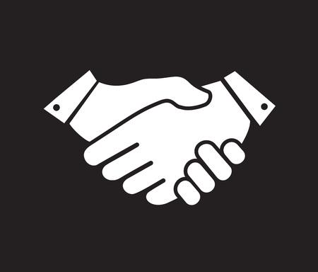business agreement icon Vector Illustratie