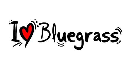 bluegrass love message
