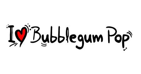 Bubblegum Pop music style