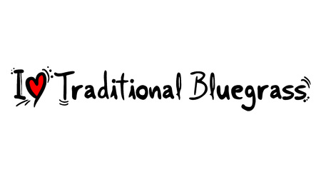 Traditional Bluegrass music style