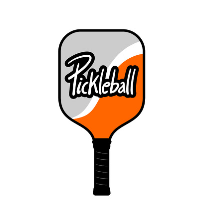 Pickleball racket icon