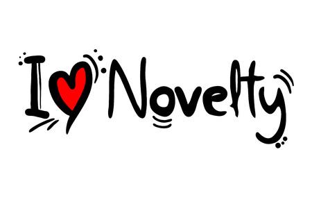 Novelty music love