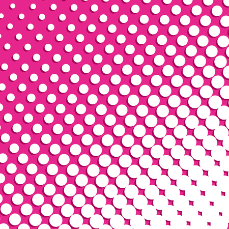 halftone visual effect background