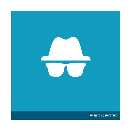 flat private symbol