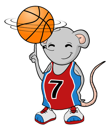 szczur koszykówki