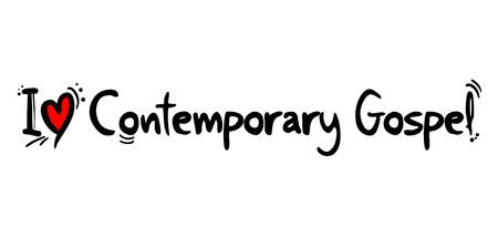 Contemporary Gospel music love