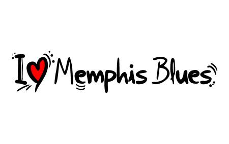 Memphis Blues music love